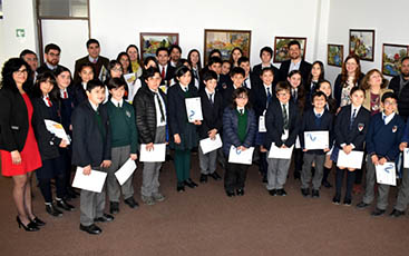 Vicaría de Educación realizó concurso para prevenir el bullying
